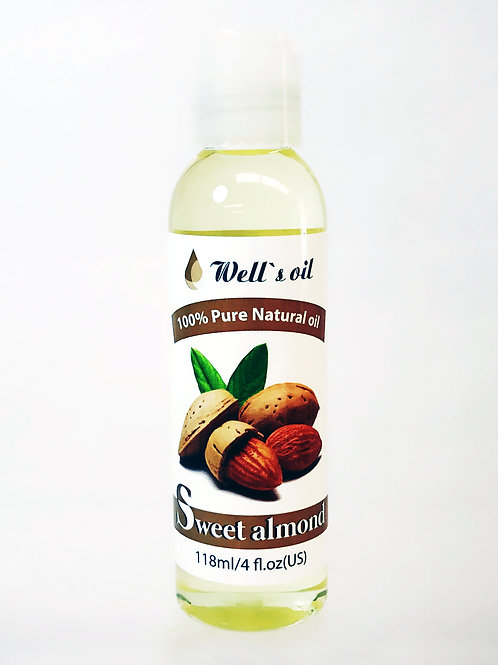 NO404_100% Pure Sweet Almond Oil 4oz