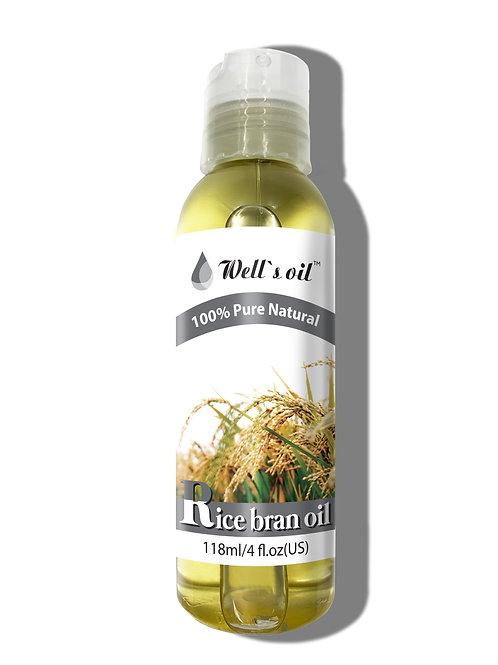 NO412_100% Rice Bran Oil 4oz