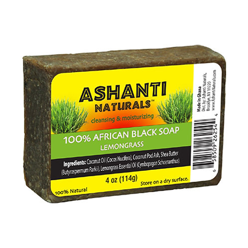 AN904-African Black Soap Lemongrass 4oz