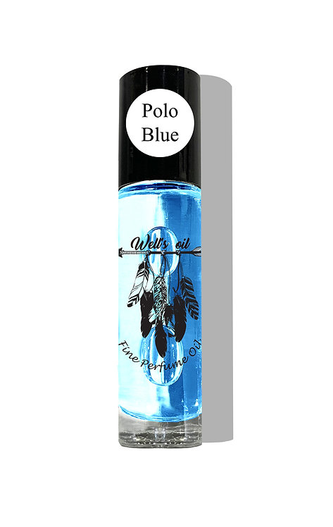 Well's Roll-On Body Oil (Polo Blue)