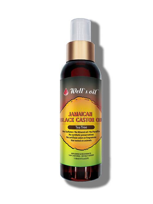 WB10_Jamaican Black Castor Oil Spray (Tea Tree) 4oz