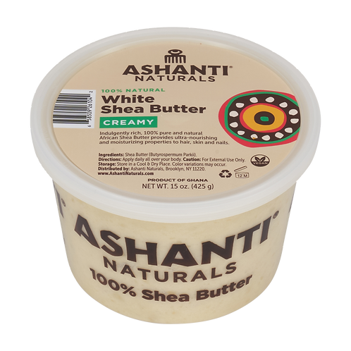 AN913_100% Shea Butter White Soft/Creamy 15oz(6/cs)