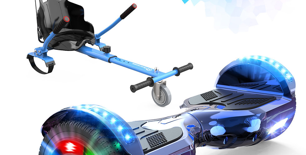 """Hoverboard, Self Balancing Scooter 6.5"""" Hover board with Seat Attachment"""