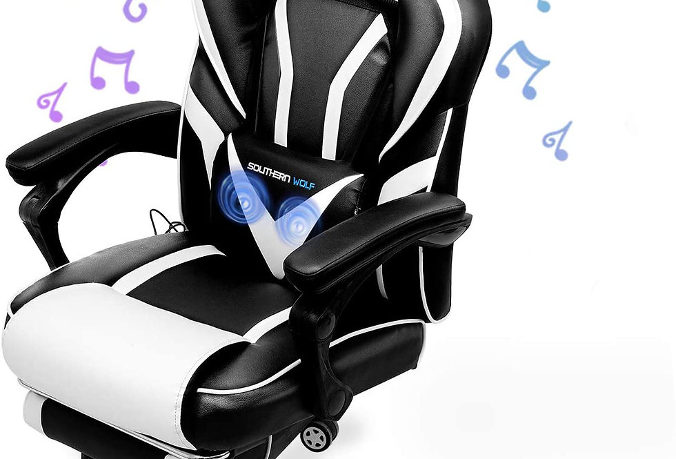 Video Gaming Chair with Massage Function