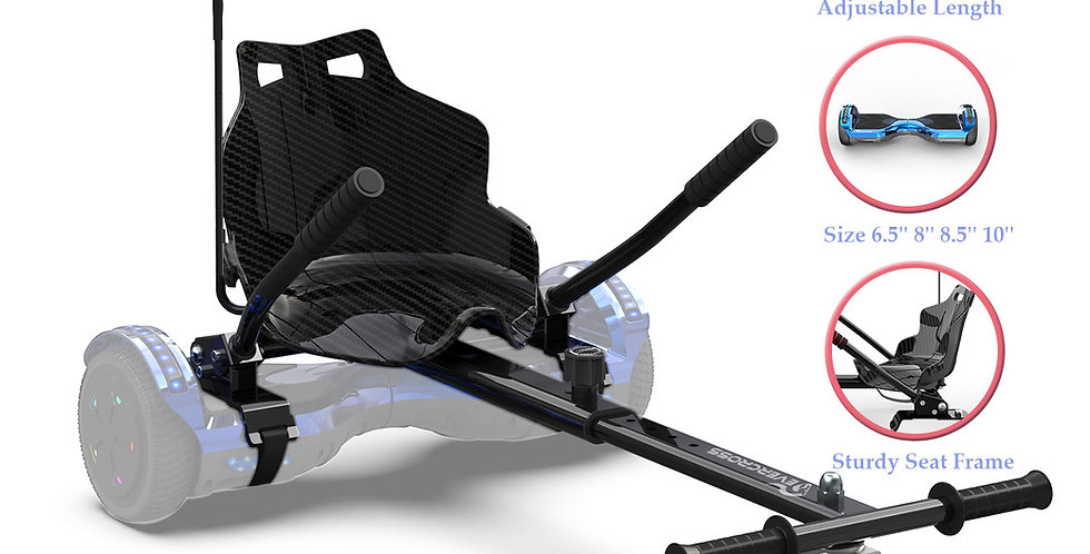 Hoverkart, Hoverboard Seat Attachment, Hoverboard Attachments, Hoverboar