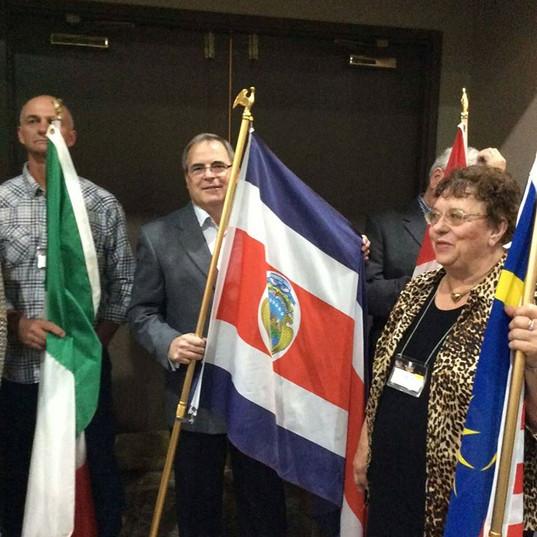 Representing Costa Rica