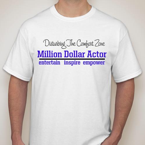 Million Dollar Actor White T w/Cap