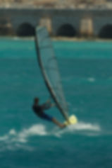 windsufing, grotto bay, blue hole water sports