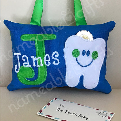 Initial & Tooth Pocket Fairy Pillow