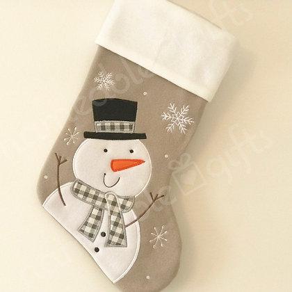 CS Grey-White Snowman