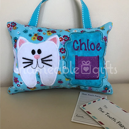 Kitty Tooth Fairy Pillow