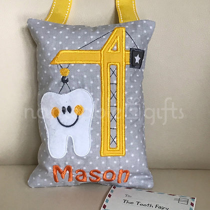 Crane Tooth Fairy Pillow
