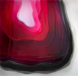 Opia, 100 x 100 cm