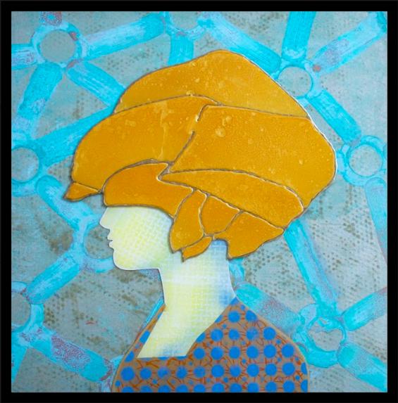Woman Gold 104 x 104 cm (GB104)