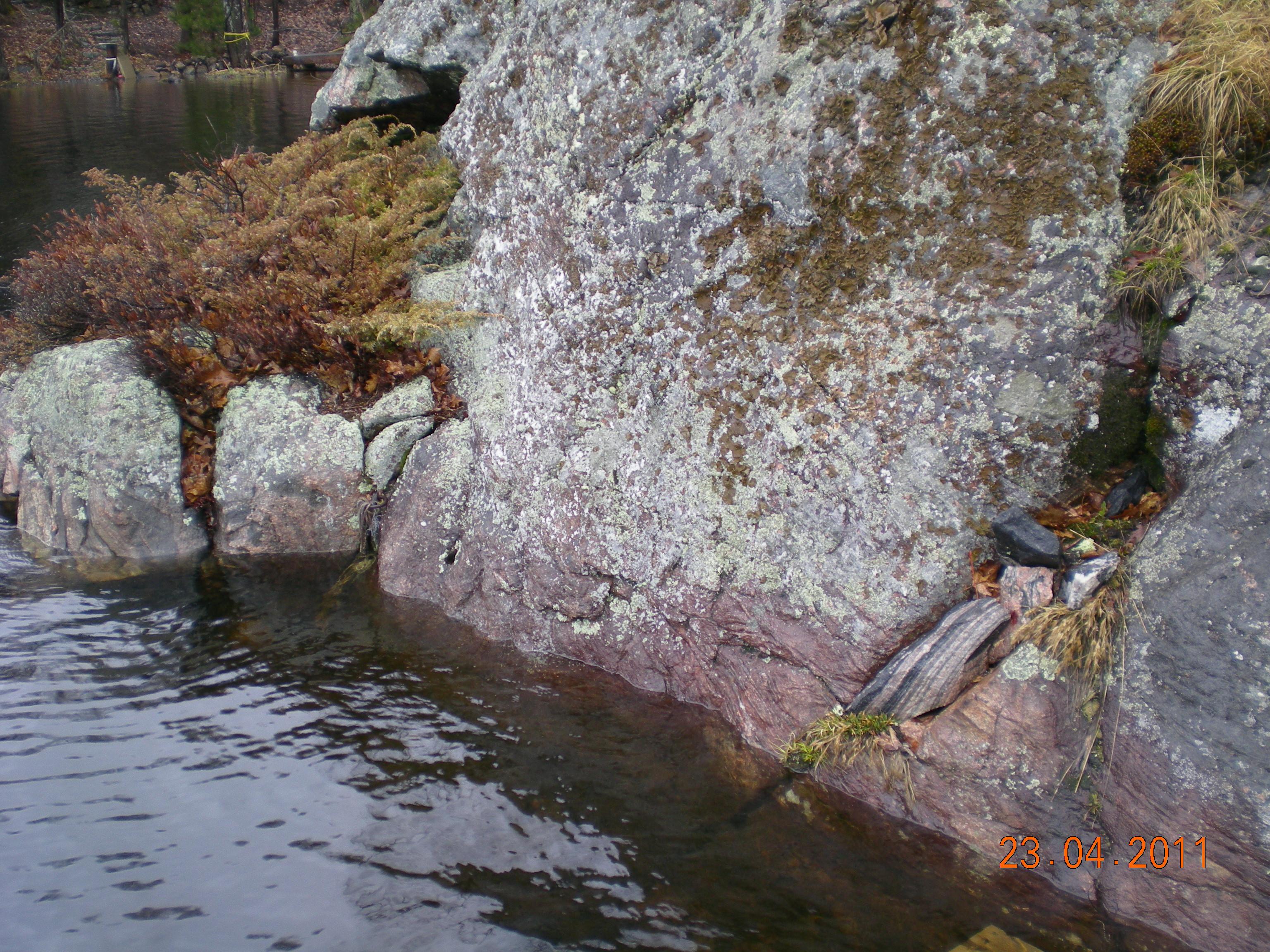 Vertical Rock in Muskoka