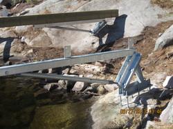 Custom Fabrication with Long Arm Bracket