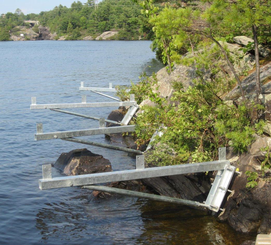 Dock On A Rock Brackets Muskoka