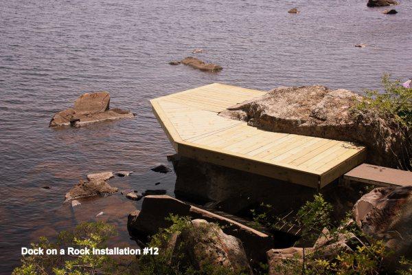 Dock On A Rock In Nova Scotia the start