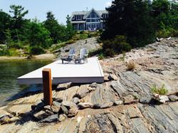 Shoreline deck