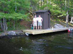 Dock On A Rock, Happy Customer