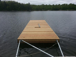 Floating Dock Strong Arms