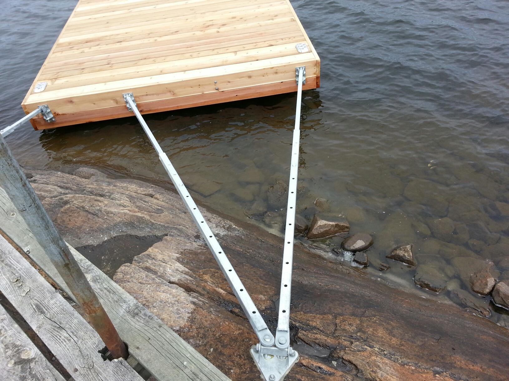Adjustable Floating Dock Standoffs