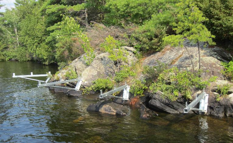 Dock On A Rock Long Arm Brackets