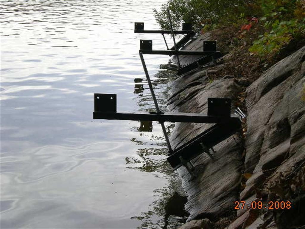 Dock On A Rock's Prototype Bracket
