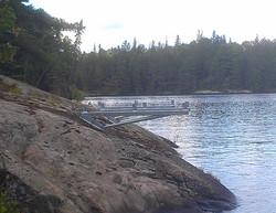 "Dock On A Rock, 72"" Long Arm"