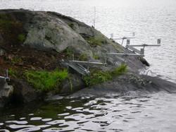 Dock On A Rock, Crane Lake, Ontario