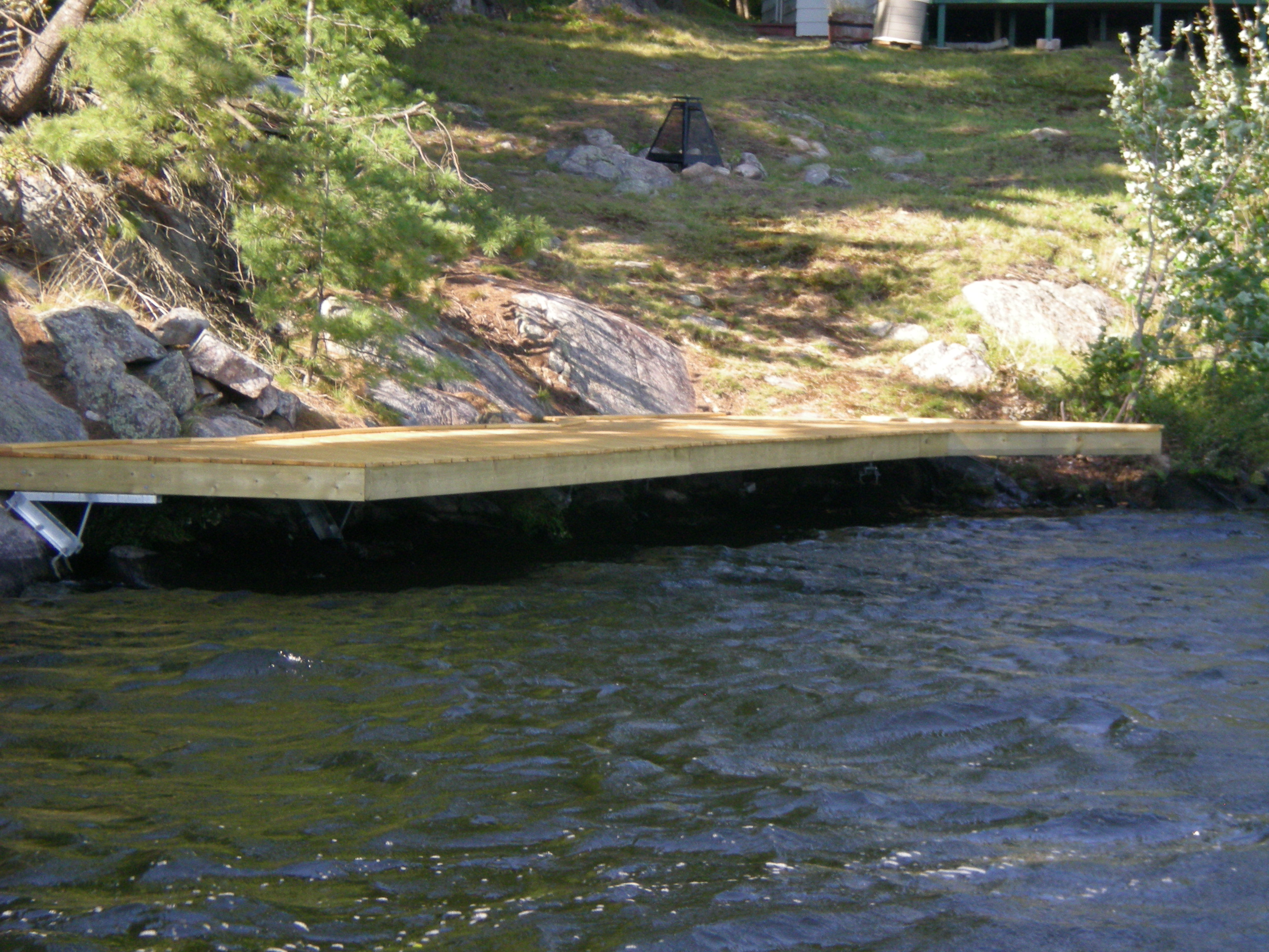 Pickeral River Cantilevered Dock