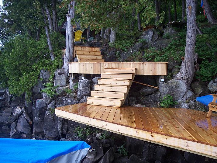 Stairs & Landings on DOAR brackets