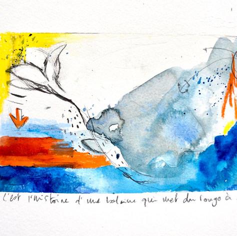 La balein au rouge à lèvre.