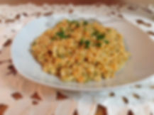 couscous orzo with coliflower risotto