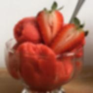 סורבה תותים, פינוק מרענן למזג אויר הפכפך