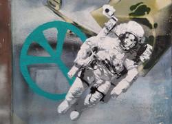 ASTRONAUTIN III (I-III), ASTRONAUT III (I-III) GREEN PEACE 2020