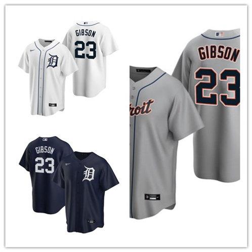 Men Kirk Gibson 2020/21 Replica White, Gray, Navy Blue