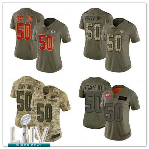 Women Willie Gay Jr Salute to Service Olive, Camo