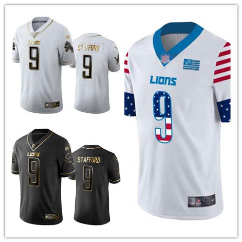Men Matthew Stafford Limited Golden Edition, Independence Day