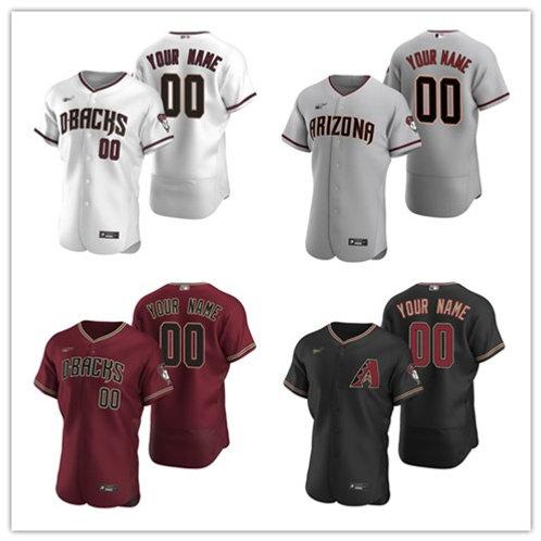 Men Custom 2020/21 Authentic White, Gray, Red, Black