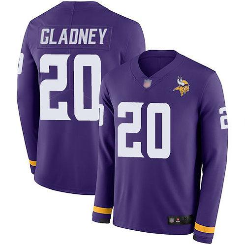 Men Jeff Gladney Purple Therma Long Sleeve