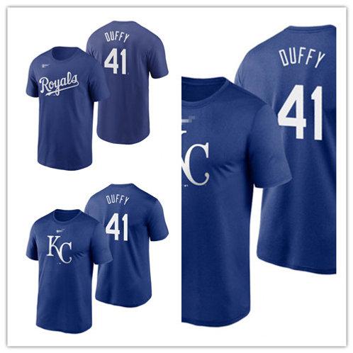Men Danny Duffy T-Shirt Royal Blue