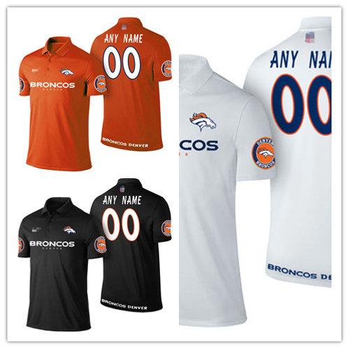 Men Custom Shirt Polo Orange, White, Black