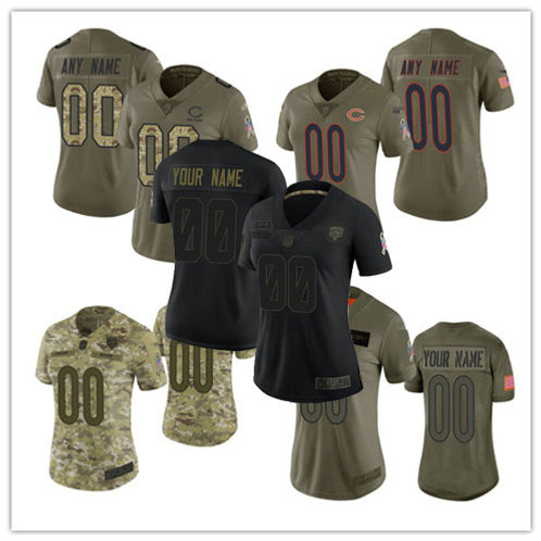 Women Custom Limited Salute to Service Olive, Camo, Black