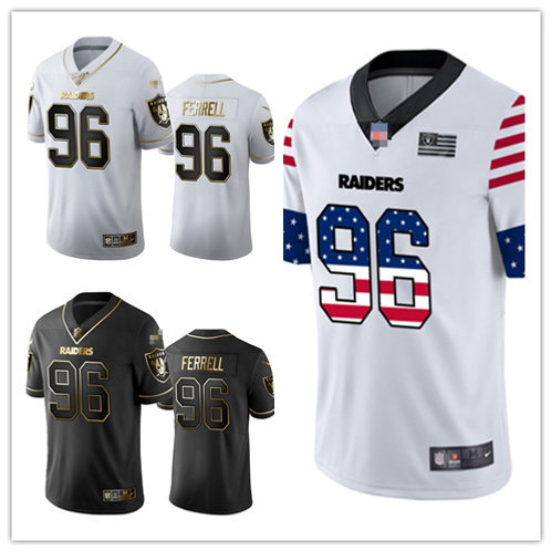 Men Clelin Ferrell Limited Golden Edition, Independence Day