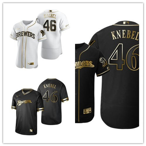 Men Corey Knebel White Golden, Black Golden