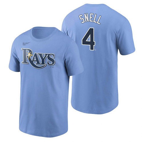 Men Blake Snell T-Shirt Light Blue