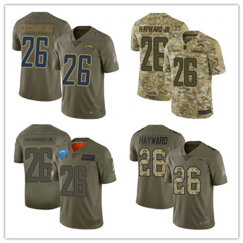 Men Casey Hayward Limited Salute to Service Olive, Camo