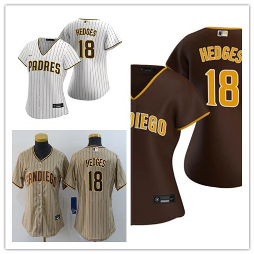 Women Austin Hedges 2020/21 Replica White/Brown, Brown, Tan/Brown