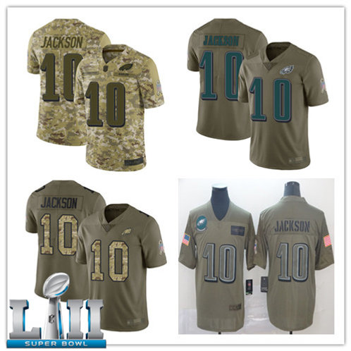 Youth DeSean Jackson Limited Salute to Service Camo, Olive